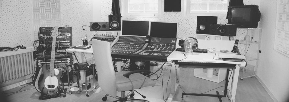 Das Aufnahmestudio der KlangFabrique